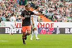 05.08.2017, Weserstadion, Bremen, GER, FSP, SV Werder Bremen (GER) vs FC Valencia (ESP)<br /> <br /> im Bild<br /> Toni Lato (Valencia #16) bejubelt seinen Treffer zum 1:2, <br /> <br /> Foto &copy; nordphoto / Ewert