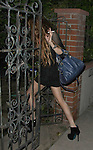 .6-11-09. Lindsay Lohan walking into Samantha Ronson's house at 1am. Lindsay seemed very drunk and not together. There's a white powder on her noise. Looks like lohan might be back on the cocaine WHILE SMOKING HER CIGARETTE ...AbilityFilms@yahoo.com.805-427-3519.www.Abilityfilms.com.