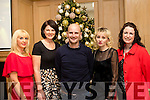 Season cheers<br /> --------------------<br /> Staff from Dairymaster, Causeway, enjoying their Christmas party last Saturday night in the Ballygarry house hotel, Tralee were L-R Caroline Dineen, Caroline Leahy, Patrick Dineen, Lena Kurochkin with Lisa Herlihy.