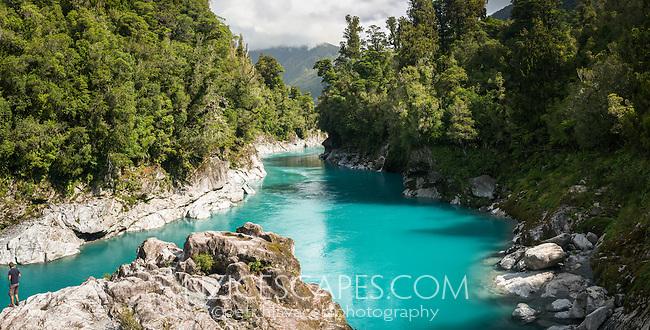 Hokitika River Gorge, West Coast, South Westland, New Zealand, NZ