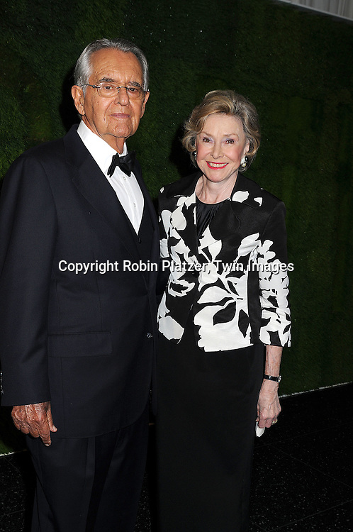 Pete Peterson and wife Joan Ganz Cooney..arriving at The Museum of Modern Art's 40th Annual Party in the Garden on June 10, 2008 in New York City. ....Robin Platzer, Twin Images
