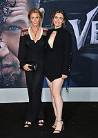 "LOS ANGELES, CA. October 01, 2018: Shannon Tweed & Sophie Simmons at the world premiere for ""Venom"" at the Regency Village Theatre.<br /> Picture: Paul Smith/Featureflash"