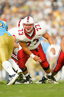 Tom Kolich during Stanford's 28-18 loss to UCLA on October 26, 2002 in Los Angeles, CA.<br />