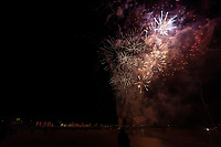 2019 11 05 Firework display in Swansea Bay, Wales, UK.