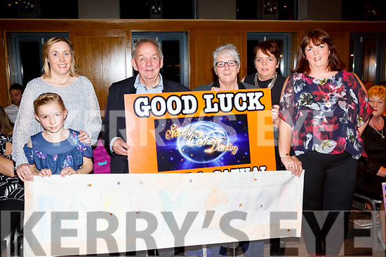 Ita and Caoimhe O'Regan, Kevin and Peggy Geary and Brenda O'Connor Helen Geary at the Ballyheigue GAA 'Strictly Come Dancing' in the Ballyroe Heights Hotel on Saturday night