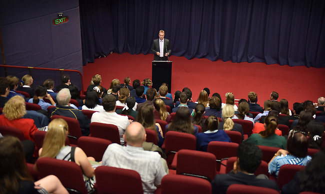 National Schools Constitutional Convention event at Parliament House, Old Parliament House and Government House, Canberra on 15/16/17th March, 2017. PHOTO: MARK GRAHAM