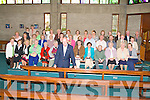 GOLDEN JUBILEE: Fr Billy Carroll celebrating his Golden Jubilee with the parishioners and choir of St Brendan's Church, Tralee On Thursday.
