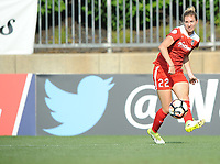 Boyds, MD - Saturday August 12, 2017: Alyssa Kleiner during a regular season National Women's Soccer League (NWSL) match between the Washington Spirit and The Boston Breakers at Maureen Hendricks Field, Maryland SoccerPlex.