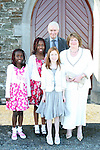 Saoirse Parry and family at her Confirmation in Clogherhead Church...Photo NEWSFILE/Jenny Matthews.(Photo credit should read Jenny Matthews/NEWSFILE)....This Picture has been sent you under the condtions enclosed by:.Newsfile Ltd..The Studio,.Millmount Abbey,.Drogheda,.Co Meath..Ireland..Tel: +353(0)41-9871240.Fax: +353(0)41-9871260.GSM: +353(0)86-2500958.email: pictures@newsfile.ie.www.newsfile.ie.FTP: 193.120.102.198.