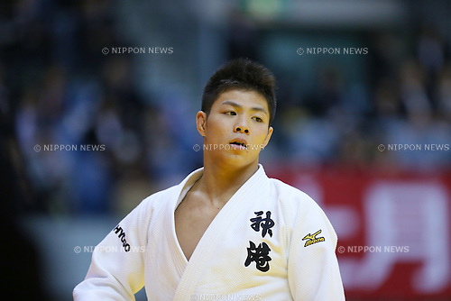 Hifumi Abe (), NOVEMBER 7, 2015 - Judo : Kodokan Cup 2015 Men's -66kgl at Chiba Port Arena, Chiba, Japan. (Photo by Yohei Osada/AFLO SPORT)
