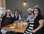 Jessica and Steve Canale and Andrea and Jordan Rhodes during the Kentucky Derby Party at The Depot on Saturday, May 6, 2017 in Reno, Nevada.