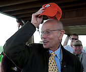 #38. Longtime NSA steward and racing official Steve Groat announced his retirement from the stand at the Colonial Cup. He received an ovation from the jockeys.