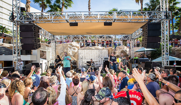 LAS VEGAS, NV - APRIL 2: ***HOUSE COVERAGE***  Uncle Kracker performs at a Kenny Chesney pre-concert Pool Party at Hard Rock Hotel & Casino in Las Vegas, NV on April 3, 2015. Credit: Erik Kabik Photography/MediaPunch
