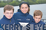 ABOVE RIGHT:.HAPPY: Tomas,.Kayleigh and Fionan.Hussey having fun at the.Caherciveen Regatta last.Saturday.
