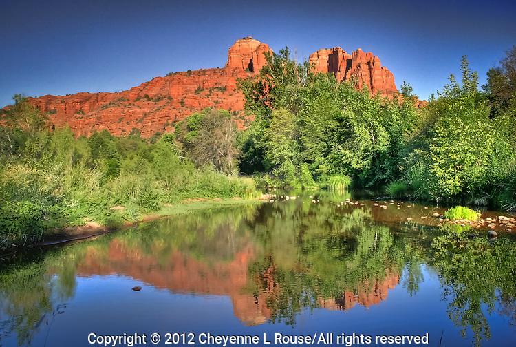 Cathedral Rocks in Sedona, Arizona