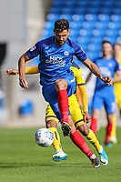 Ryan Tafazolli of Peterborough United during the Sky Bet League 1 match between Peterborough and Oxford United at the ABAX Stadium, London Road, Peterborough, England on 30 September 2017. Photo by David Horn.