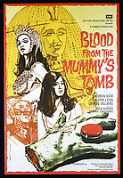 Blood from the Mummy's Tomb (1971) <br /> POSTER ART<br /> *Filmstill - Editorial Use Only*<br /> CAP/KFS<br /> Image supplied by Capital Pictures