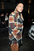 Evan Ross at the dinner to mark launch of debut EP &quot;Ashlee + Evan&quot;, Bagatelle London, Dover Street, London, England, UK, on Wednesday 07 November 2018.<br /> CAP/CAN<br /> &copy;CAN/Capital Pictures