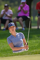 Michelle Wie (USA) hits from the trap on 2 during round 3 of the 2018 KPMG Women's PGA Championship, Kemper Lakes Golf Club, at Kildeer, Illinois, USA. 6/30/2018.<br /> Picture: Golffile | Ken Murray<br /> <br /> All photo usage must carry mandatory copyright credit (&copy; Golffile | Ken Murray)