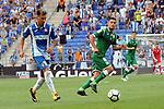 League Santander 2017-2018 - Game: 2<br /> RCD Espanyol vs CD Leganes: 0-1.<br /> Hernan Perez vs Gabriel Appelt.