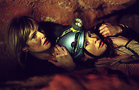 The Descent (2005) <br /> Saskia Mulder &amp; MyAnna Buring<br /> *Filmstill - Editorial Use Only*<br /> CAP/KFS<br /> Image supplied by Capital Pictures
