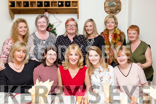 Time to relax<br /> -----------------<br /> Nora Teahon, Tralee, seated centre, had a fab night out in Bella Bia, Tralee last Monday night as she is retiring from the Administration department of the Bon Secure hospital in the town after 10yrs, seated L-R Mandy McKenzie Vass, Diane Bamburym Nora Teahon, Trish Hannon&amp;Geraldine Conlon, back L-R Olga Enright, Ann Walsh, caroline Allen, Sharon Spring, Geraldine O'Shea with Teresa Wallace.