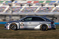 75, Audi, Audi RS3 LMS TCR, TCR, Roy Block, Pierre Kleinubing, IMSA Continental Tire SportsCar Challenge<br /> December Test<br /> Daytona International Speedway<br /> Daytona Beach, FL USA<br /> Wednesday, 06 December 2017<br /> <br /> World Copyright: Brian Cleary<br /> LAT Images