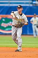 June 06, 2009:  NCAA Super Regional: Florida Gators vs Southern Miss Golden Eagles:   Southern Miss 2B James Ewing (28) during game one of Super Regional action at Alfred A. McKethan Stadium on the campus of University of Florida in Gainesville.   Southern Miss defeated Florida 9-7 to take a 1-0 lead in the series............