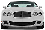 Straight front view of a 2008 - 2012 Bentley Continental GT Speed Coupe.