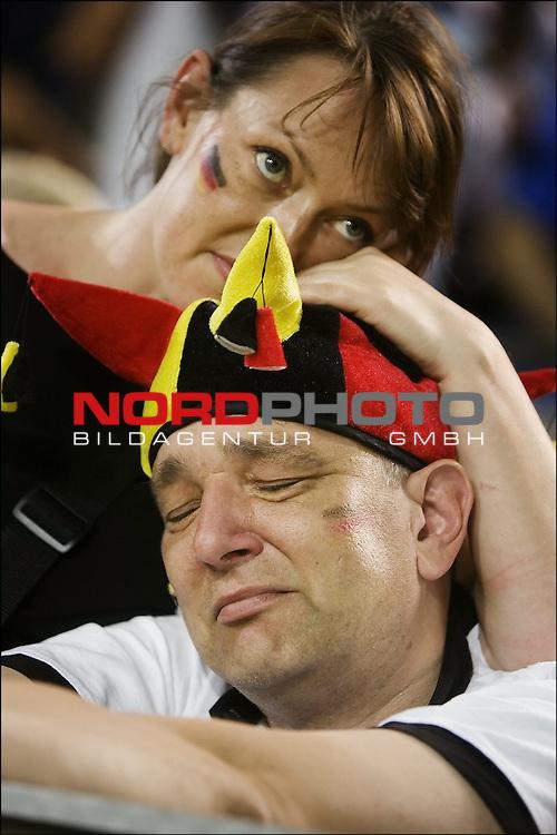 FIFA WM 2006 -  Halbfinale. <br /> Play    #61 (04-Jul) - Deutchland - Italien.<br /> /German fans.<br /> <br /> Foto &copy; nordphoto