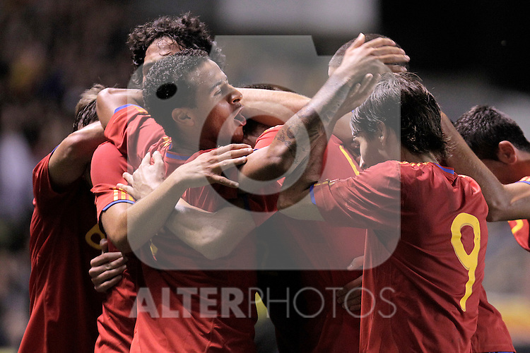 Spain's  during UEFA Under21 Eurocup qualifying match.October 9,2010. (ALTERPHOTOS/Acero)