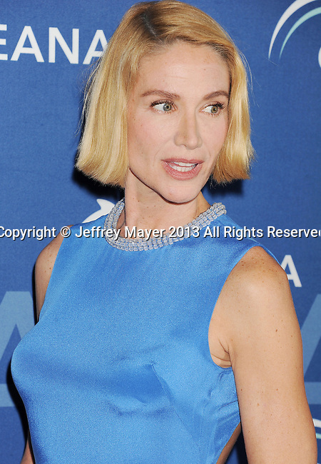 BEVERLY HILLS, CA- OCTOBER 30: Actress Kelly Lynch arrives at the Oceana Partners Award Gala With Former Secretary Of State Hillary Rodham Clinton and HBO CEO Richard Plepler at Regent Beverly Wilshire Hotel on October 30, 2013 in Beverly Hills, California.