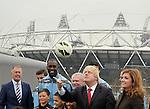 22/03/2013 - London Olympic Stadium announcement - Stratford - London