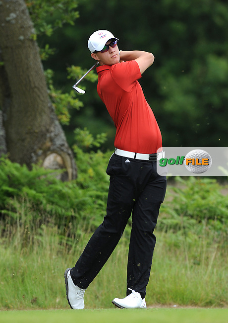 Joe Dean of England during the Second Round of The Brabazon Trophy 2015 at Notts Golf Club, Nottingham, England. Picture: Golffile   Richard Martin-Roberts<br /> All photo usage must carry mandatory copyright credit (&copy; Golffile   Richard Martin- Roberts)
