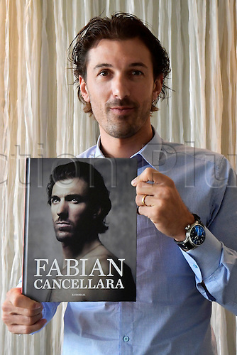 10.11.2016. Antwerp, Belgium. Fabian Cancellara at his biography book release.