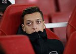 Mesut Ozil of Arsenal starts on the bench again during the UEFA Europa League match at the Emirates Stadium, London. Picture date: 28th November 2019. Picture credit should read: David Klein/Sportimage