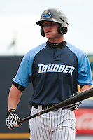 Trenton Thunder outfielder Ben Gamel (8) during Media Day at ARM & HAMMER Park on April 1, 2014 in Trenton, New Jersey. (Tomasso DeRosa/Four Seam Images)