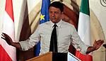 POLITICS - ITALY -RENZI