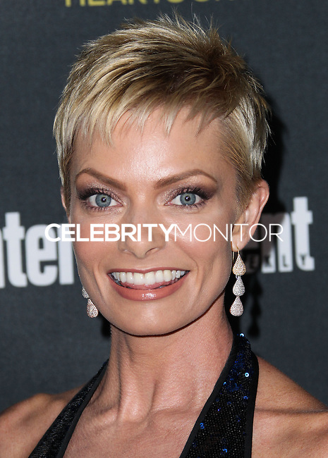 WEST HOLLYWOOD, CA, USA - AUGUST 23: Jaime Pressly arrives at the 2014 Entertainment Weekly Pre-Emmy Party held at the Fig & Olive on August 23, 2014 in West Hollywood, California, United States. (Photo by Xavier Collin/Celebrity Monitor)