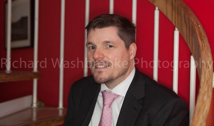 Portrait - Griff Owens  16th February 2013