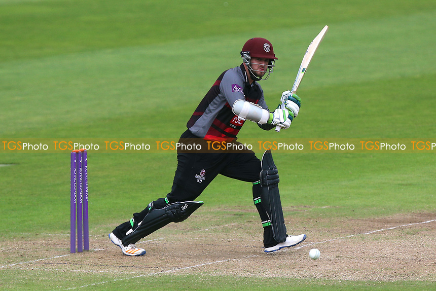 Steven Davies in batting action for Somerset during Somerset vs Essex Eagles, Royal London One-Day Cup Cricket at The Cooper Associates County Ground on 14th May 2017