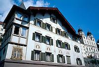 in Disentis,Graubünden, Schweiz