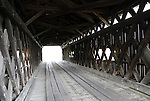 South Denmark Road Covered Bridge window Ashtabula County Ohio, Covered Bridges,