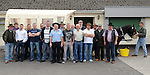 Some of the locals who took part in the Quiet Man Mystery tour from Daly's donore. Photo: Colin Bell/pressphotos.ie