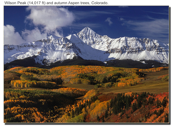 Everybody wants to know when the aspen trees change color. Don't trust the locals. Check out the mountains cams for the truth. <br /> A visit from September 24 to October 7 is you best bet.