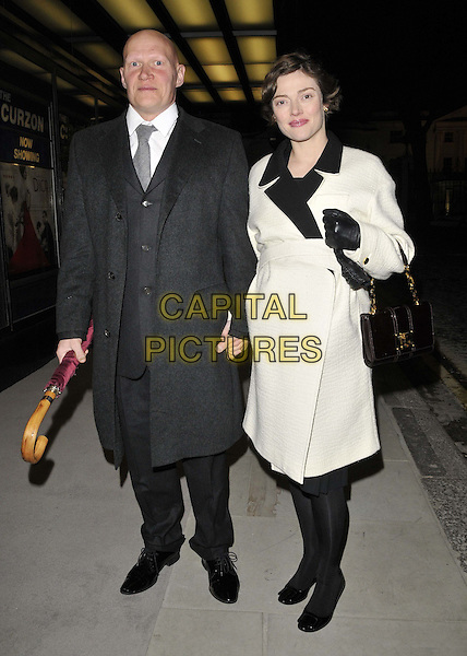 LONDON, ENGLAND - MARCH 16: Rufus Abbott &amp; Camilla Rutherford attend the &quot;Dior and I&quot; UK film premiere, Curzon Mayfair cinema, Curzon St., on Monday March 16, 2015 in London, England, UK. <br /> CAP/CAN<br /> &copy;CAN/Capital Pictures