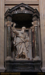 St Thomas Pierre le Gros the Younger 1711 Borromini Niche Nave St John in Lateran Rome