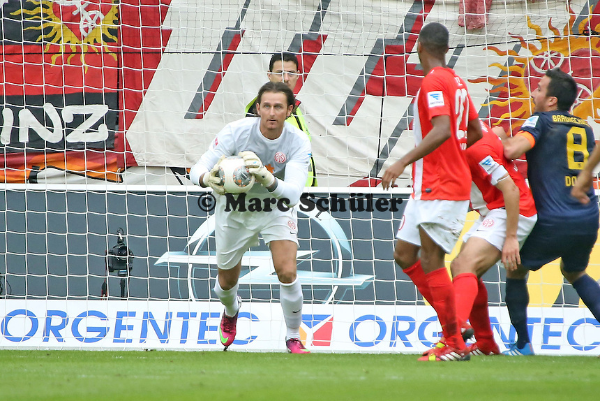 Torwart Heinz Müller (Mainz) - 1. FSV Mainz 05 vs. Eintracht Braunschweig, Coface Arena, 10. Spieltag