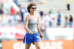 09 November 2013: USWNT legend Michelle Akers. The United States Women's National Team held a Training Session at the Citrus Bowl in Orlando, Florida