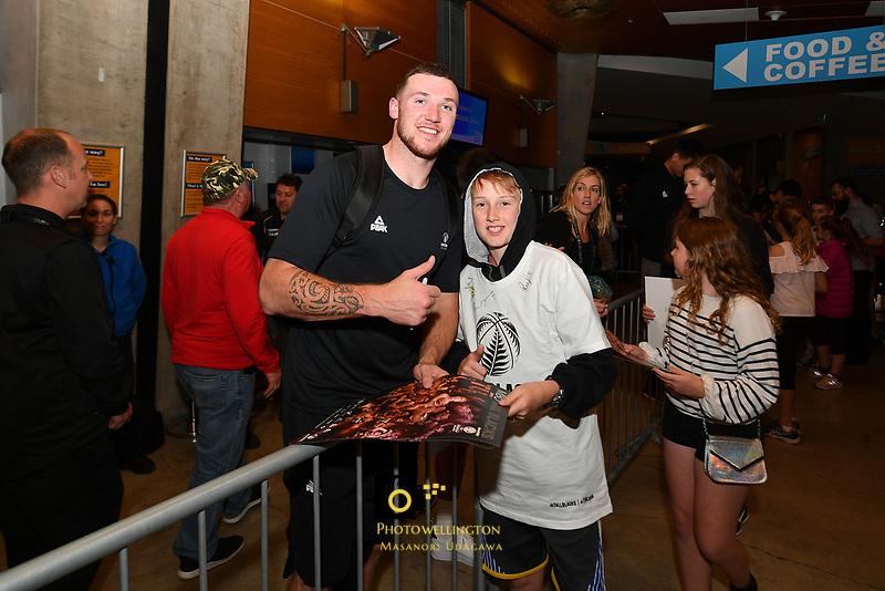 New Zealand Tall Blacks' Tom Vodanovich, FIBA World Cup Basketball Qualifier - NZ Tall Blacks v Jordan at Horncastle Arena, Christchurch, New Zealand on Thursday 29 November  2018. <br /> Photo by Masanori Udagawa. <br /> www.photowellington.photoshelter.com